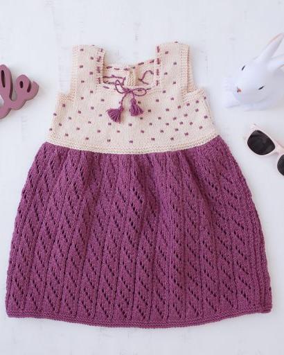 vestido rubí amigurumi